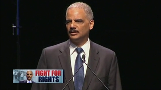 Holder calls on Congress to protect voting